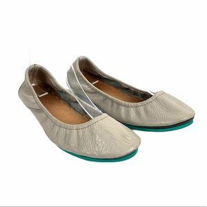 Tieks by Gavrieli Leather Ballet Flats Size 7 Gray